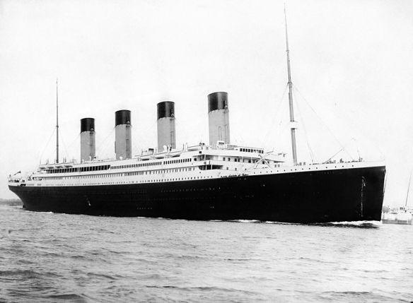 The Royal Mail Steamship (RMS) Titanic.
