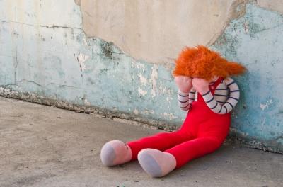 Dolly, in despair over bad reviews of her torrid Ken-Barbie-G.I. Joe love triangle romantic thriller, ended up on the street.