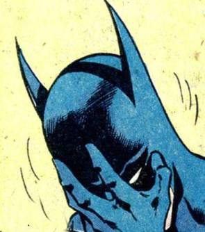 """Batman facepalm""  is apparently a thing.  A thing you can google."