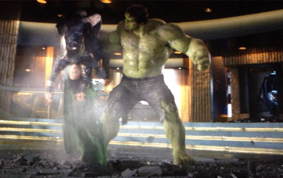 Nobody feel sorry for Hulk.  Hulk smash!