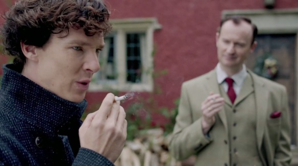 Oh, for God's sake, Mycroft, stop being so annoyingly fraternal.