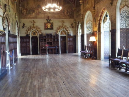 You can rent this ballroom. It's not really that expensive.