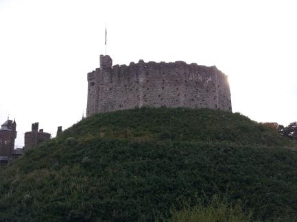 Keep again Cardiff Castle