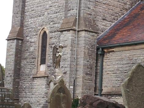 Angel, St. Augustine's Church, Penarth