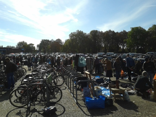 Car boot sale at Suzie's son's school