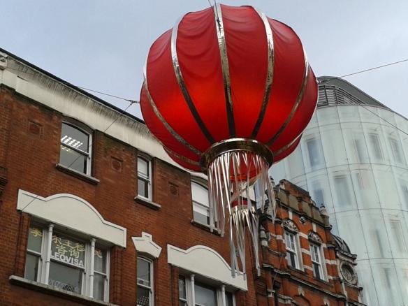 A cool giant lantern.