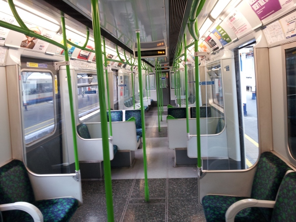 *sigh* I even miss the slow-ass District line….