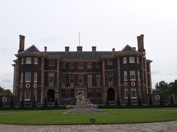 Ham House from the front.  Majestic, is it not?
