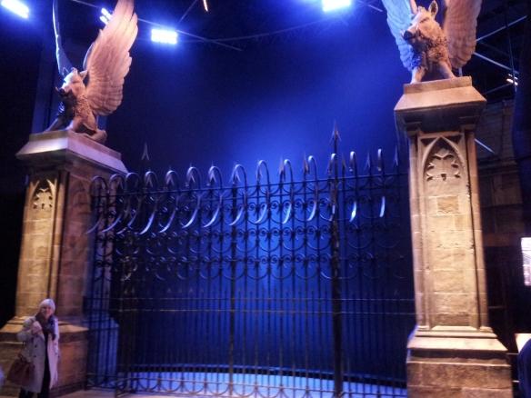 The gates of Hogwarts!