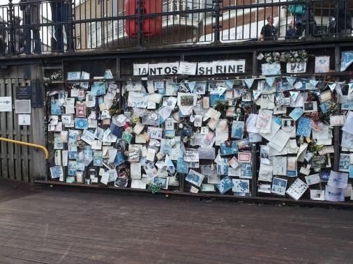 Ianto's Wall 2, Cardiff Bay