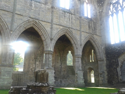 In the presbertery Tintern Abbey