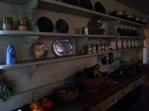Dishes and implements.