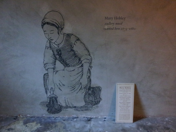 Mary Hobley, scullery maid.