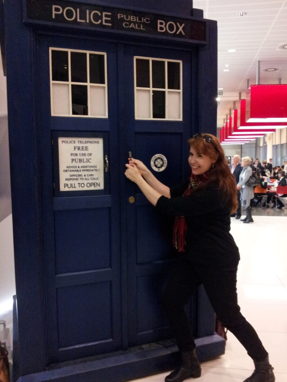 Come on, Doctor, let me in! I want to travel the universe with you!