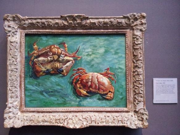 Two Crabs - Vincent Van Gogh