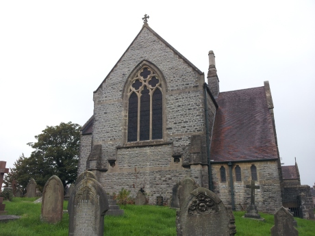 Window of St. Augustine's Church, Penarth