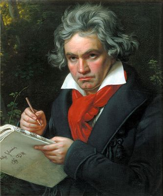 Incidentally, it is Beethoven's 244th  birthday today.  Happy birthday!