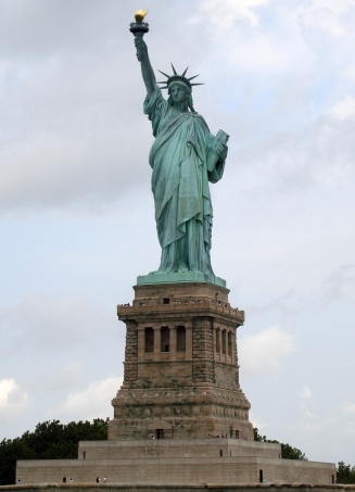If you visit the Statue of Liberty, don't lick it.