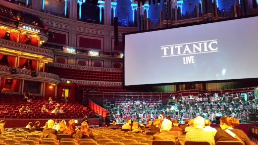 Titanic Live-inside Albert Hall