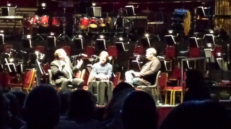 Titanic Live--interview James Horner and Jon Landau