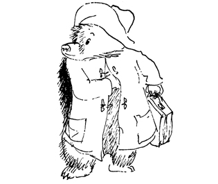 The sixpence always makes me think of Paddington.
