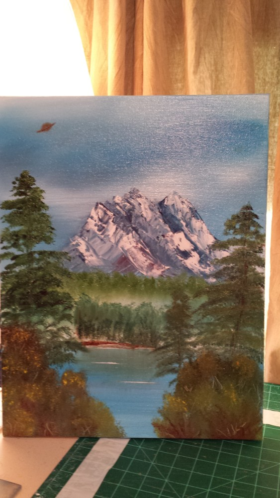 Things I Learned While Trying to Paint like Bob Ross (2/2)