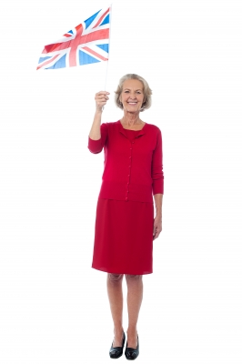 RULE BRITANNIA--oh wait, that's the wrong cheer.  Calm down, Grandma.