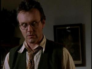 """I know the culprits who trashed the cemetery, Buffy,"" Giles said."